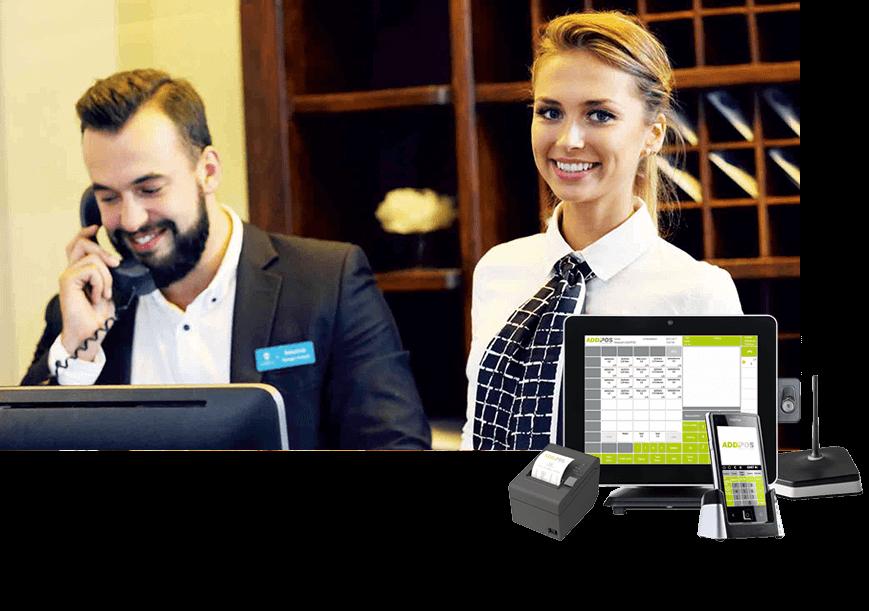 Kassensystem für Hotellerie und Hotel