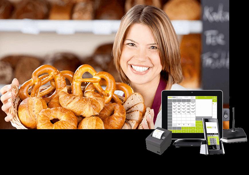 Kassensystem für Bäckerei und Bäckereigewerbe