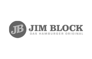 Logo JIM BLOCK - das hamburger Original